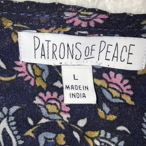 Patrons of Peace Tops - Patrons of Peace Top🦋